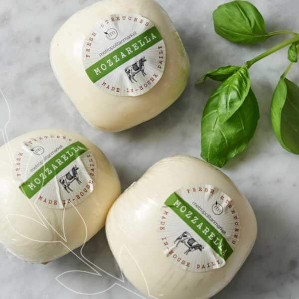 Find hand-stretched mozzarella at each Met Market store daily. #BestofMet