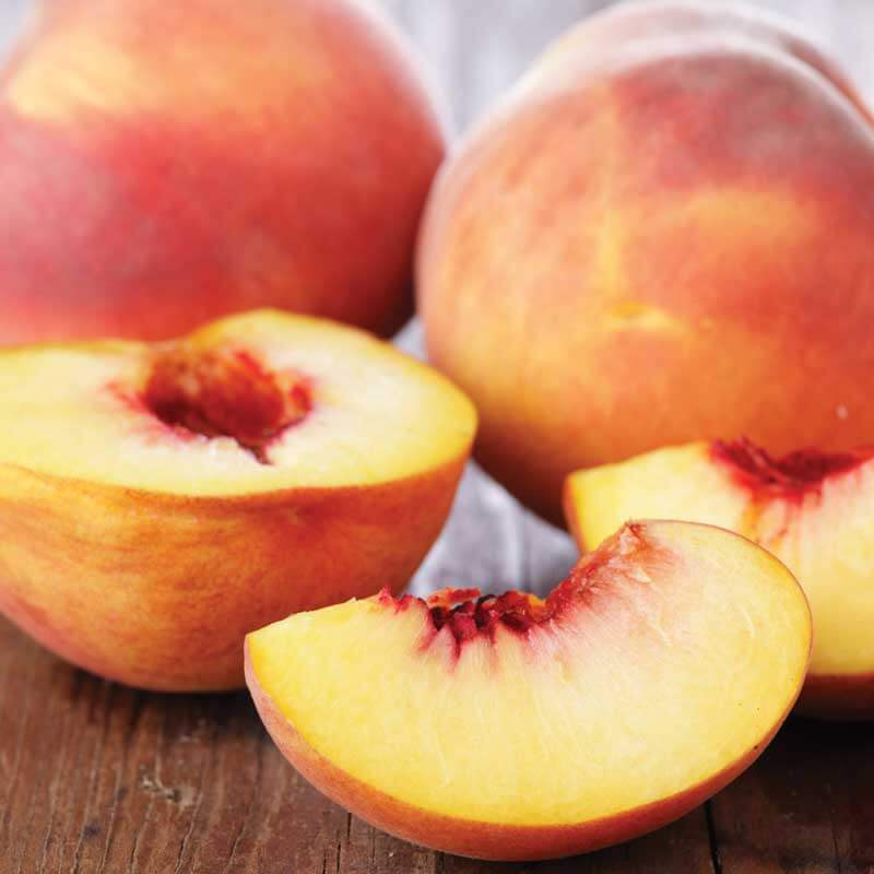 Try the sweetest peaches at Metropolitan Marketing during Peach-O-Rama