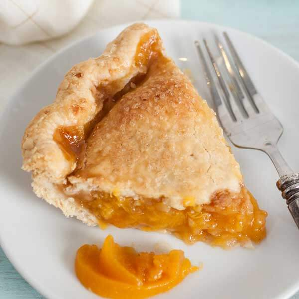 Enjoy fresh, local peaches with the Whidbey Pies Peach Pie recipe from Metropolitan Market