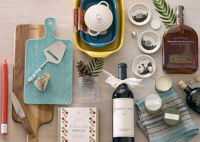Find holiday hostess gifts and stocking stuffer ideas from Metropolitan Market