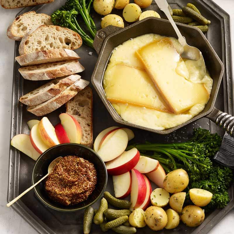 Find ideas for a Raclette dinner along with all the recipes in our 2019 Holiday Meal Planning Guide from Metropolitan Market