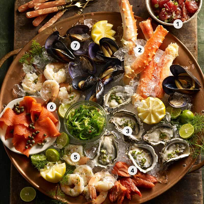 Find a Seafood Soiree along with all the recipes in our 2019 Holiday Meal Planning Guide from Metropolitan Market