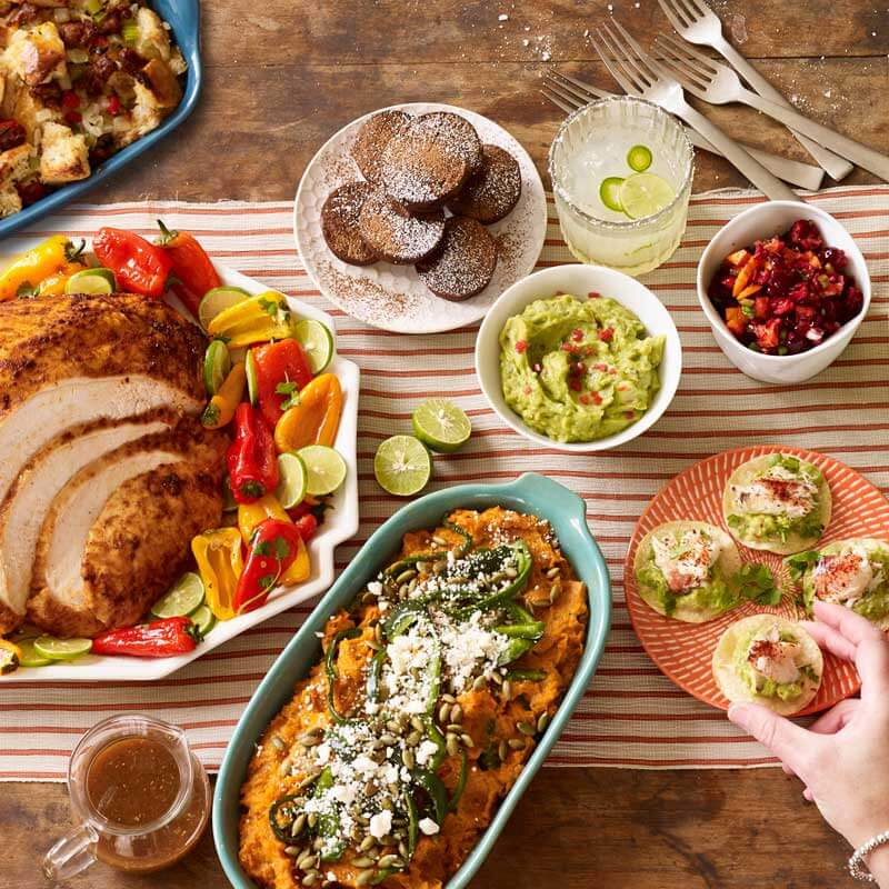 Find a full Tex-Mex turkey dinner along with all the recipes in our 2019 Holiday Meal Planning Guide from Metropolitan Market