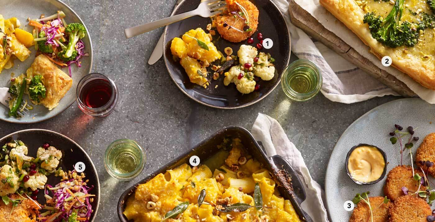 Find vegetarian holiday dinner ideas along with all the recipes in our 2019 Holiday Meal Planning Guide from Metropolitan Market