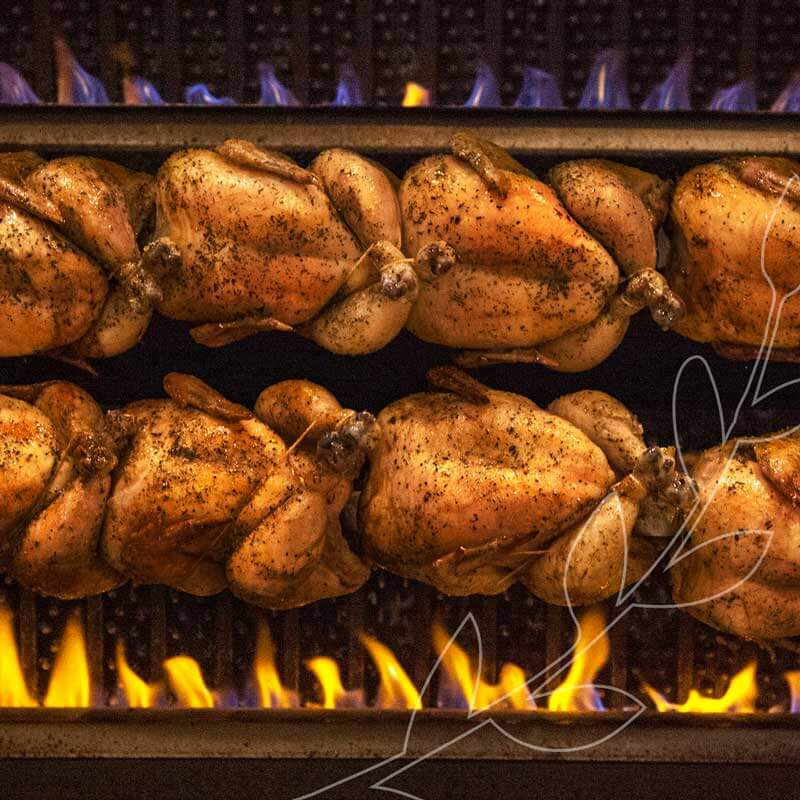 Our Rotisserie Chickens are roasted in-store and sold fresh throughout the day. #BestofMet